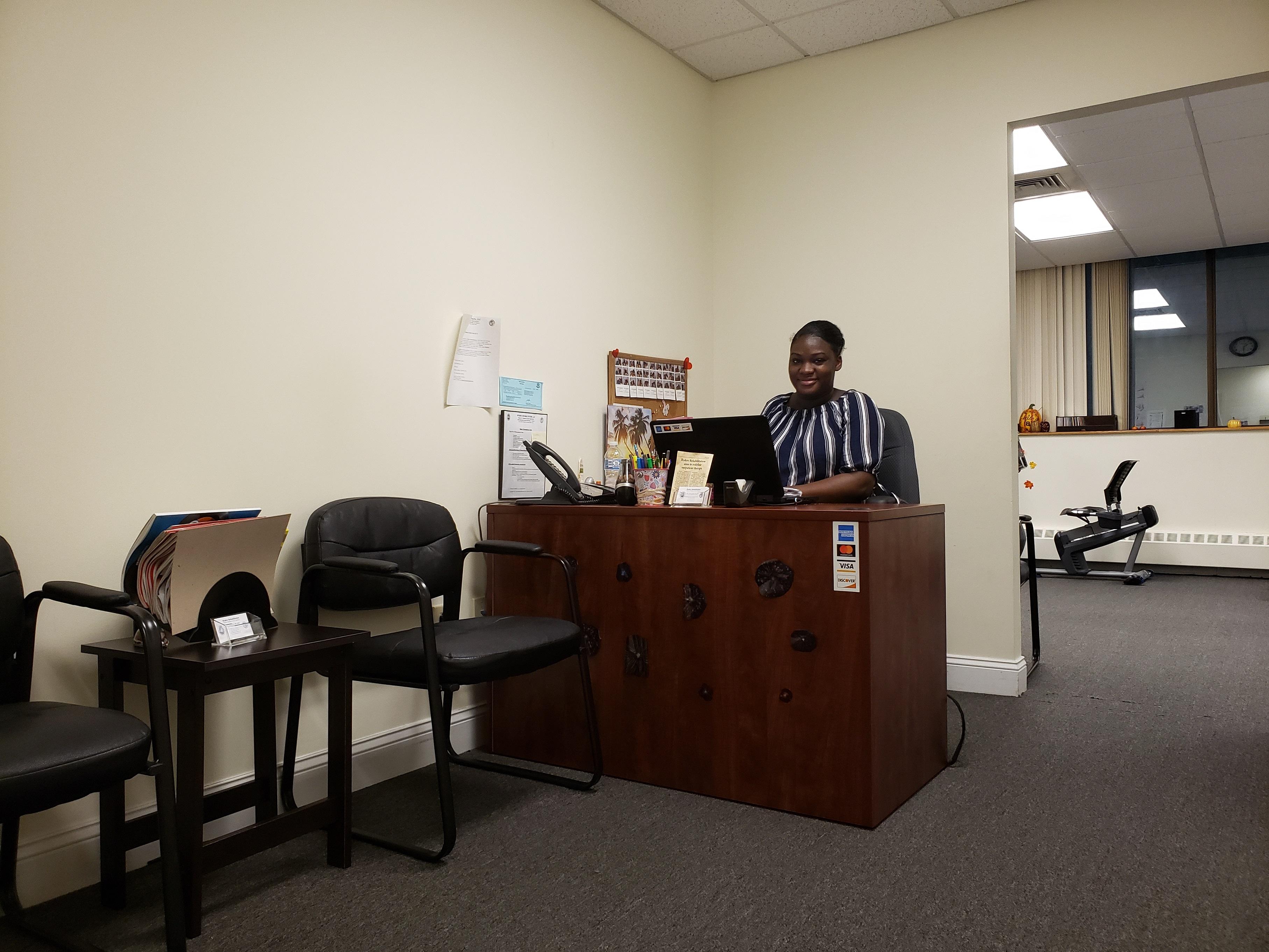 Ryders Rehab Front Desk